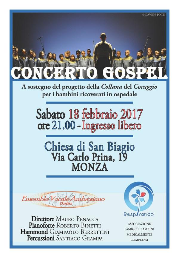 Concerto Gospel respirando monza