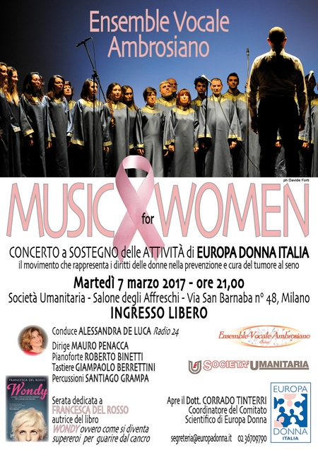Europdadonna musci for women